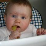 Baby leiden häufig unter Bindehautentzündung.